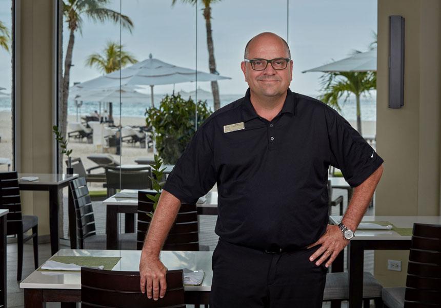 Marc Giesbers chef Aruba